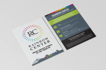 Rainbow Center Branding & Collateral