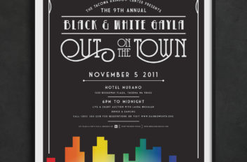 Rainbow Center's 9th Annual Black & White Gayla