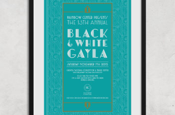 Rainbow Center's 13th Annual Black & White Gayla