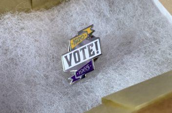 Women's Suffrage Pins
