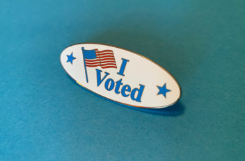 """I Voted"" Lapel Pins"